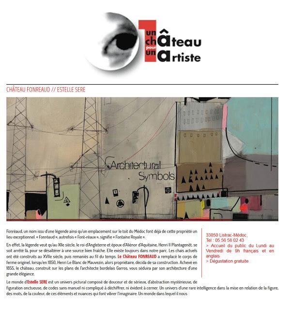 Exposition château Fonreaud - 2012