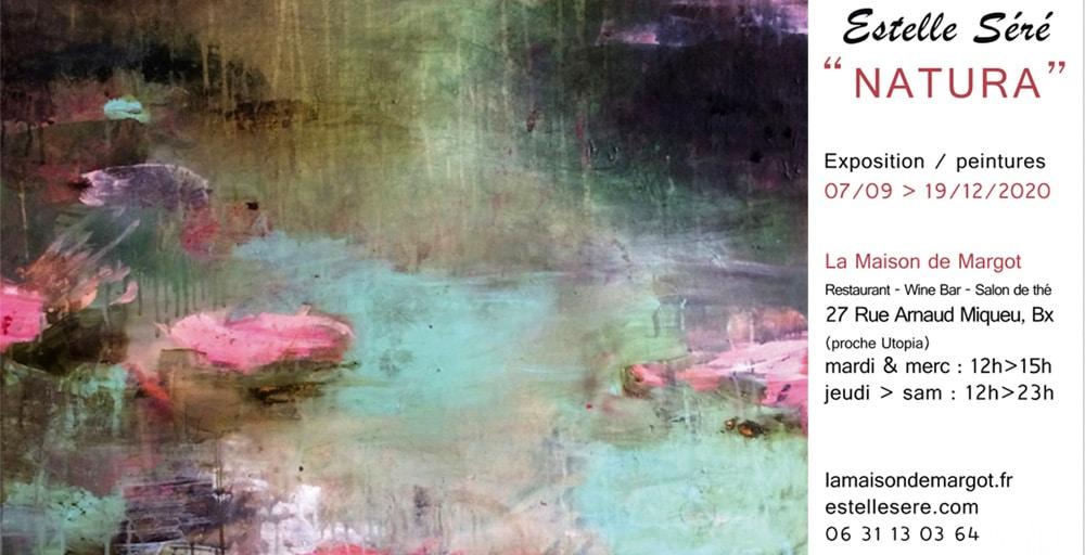 """Exposition """"Natura"""" peinture Bordeaux"""