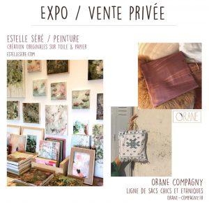Expo Vente privée – Estelle séré & Orane Company
