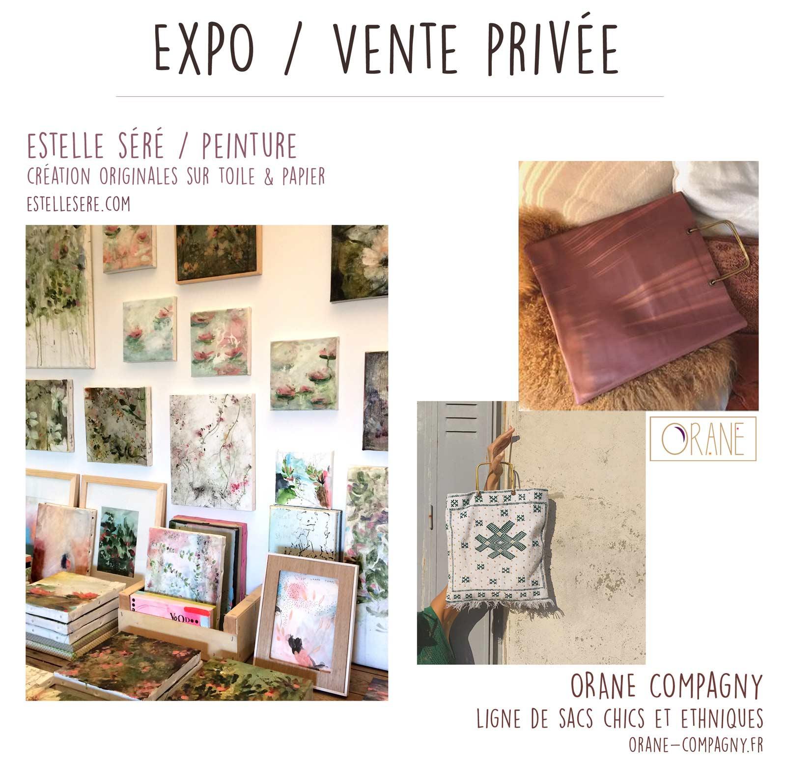 You are currently viewing Expo Vente privée – Estelle séré & Orane Company