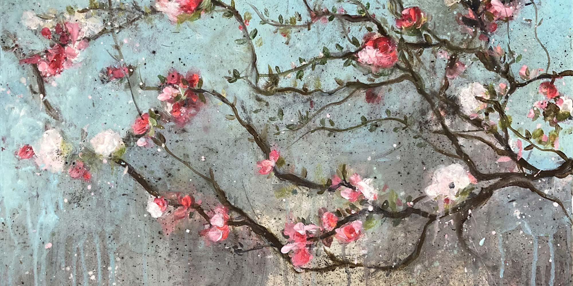 Estelle Séré - artiste peintre - peinture végétal