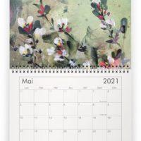 Calendrier 2021 - détail - peintures Estelle séré