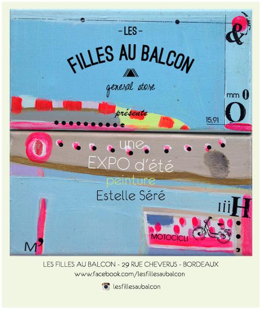 """Exposition concept store """"Les filles aux balcons"""""""