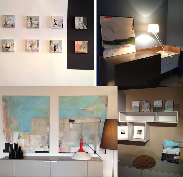 Exposition peintures - Dock design Bordeaux