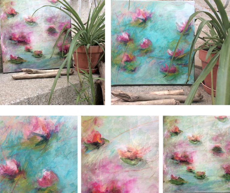 Waterlilies 3 - détail