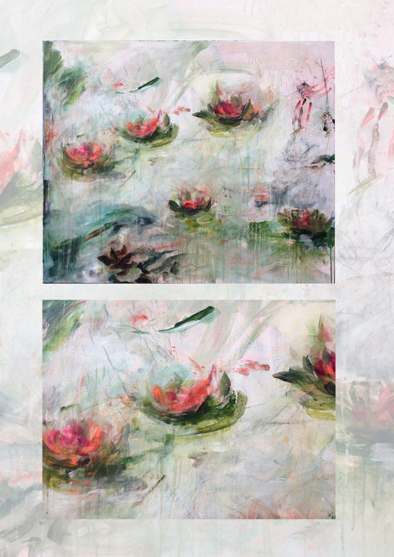 Waterlilies 4 - détail